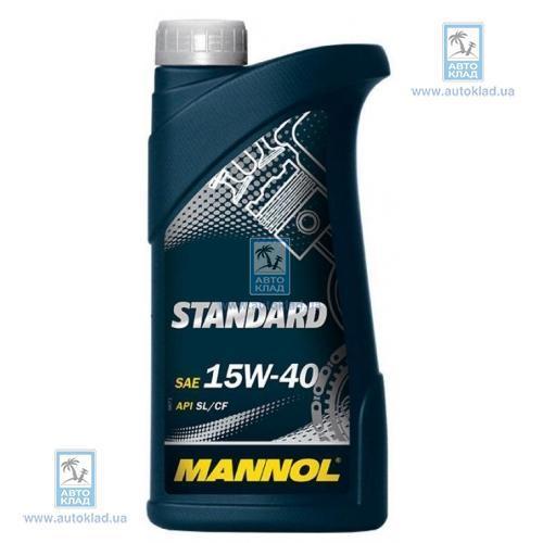 Масло моторное 15W-40 STANDARD 1л MANNOL MN1951