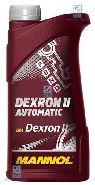 Масло трансмиссионное ATF Dexron II Automatic 1л MANNOL MN2851