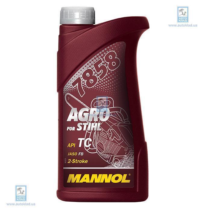 Масло для 2Т двигателей 7858 Agro for Stihl 1л MANNOL MN7858