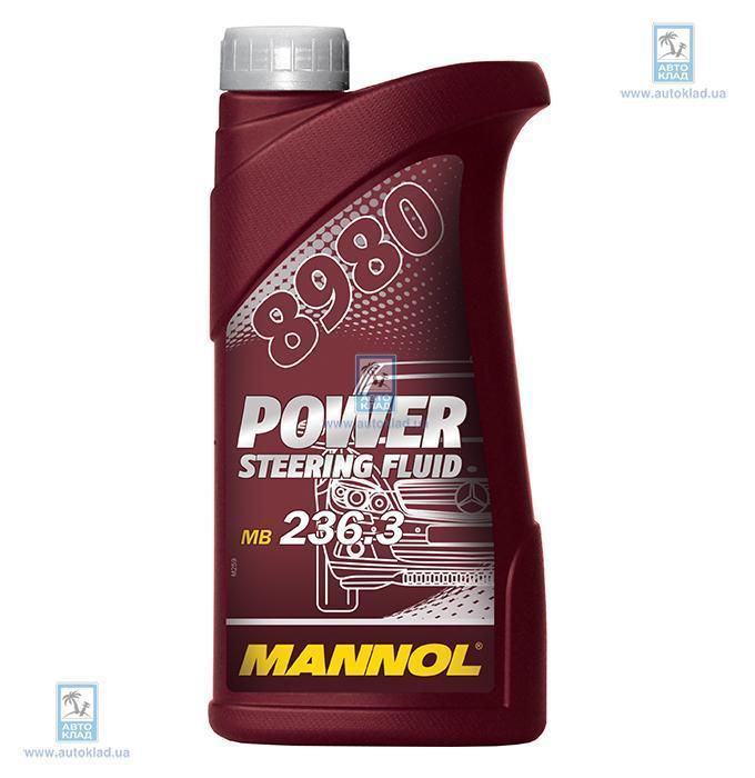Масло гидравлическое ГУР PSF 8980 0.5л MANNOL MNPSFPOWERST: заказать
