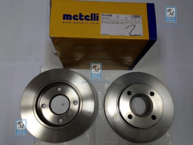 Диск тормозной передний METELLI 23-0169