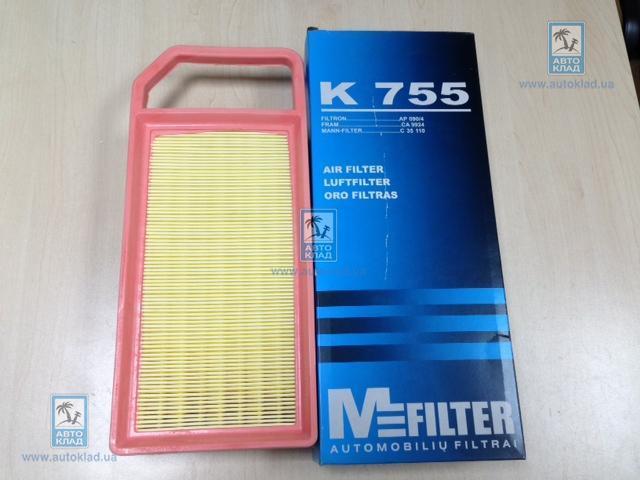 Фильтр воздушный MFILTER K 755