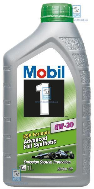 Масло моторное 5W-30 Mobil 1 ESP Formula 1л MOBIL 146240