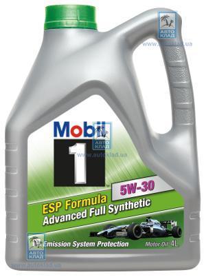 Масло моторное 5W-30 Mobil 1 ESP Formula 4л MOBIL 149923: купить
