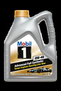 Масло моторное 0W-40 Mobil 1 AFS 4л MOBIL 150031: описание