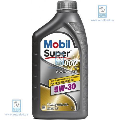 Масло моторное 5W-30 Super 3000 X1 Formula FE 1л MOBIL 151522