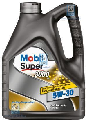 Масло моторное 5W-30 Super 3000 XE 4л MOBIL 153018: заказать