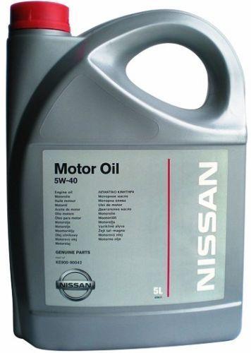 Масло моторное 5W-40 5л NISSAN KE90090042: продажа