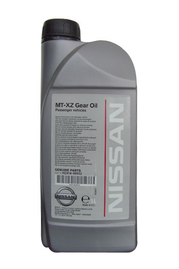 Масло трансмиссионное 75W-80 MT-XZ Gear 1л NISSAN KE91699932