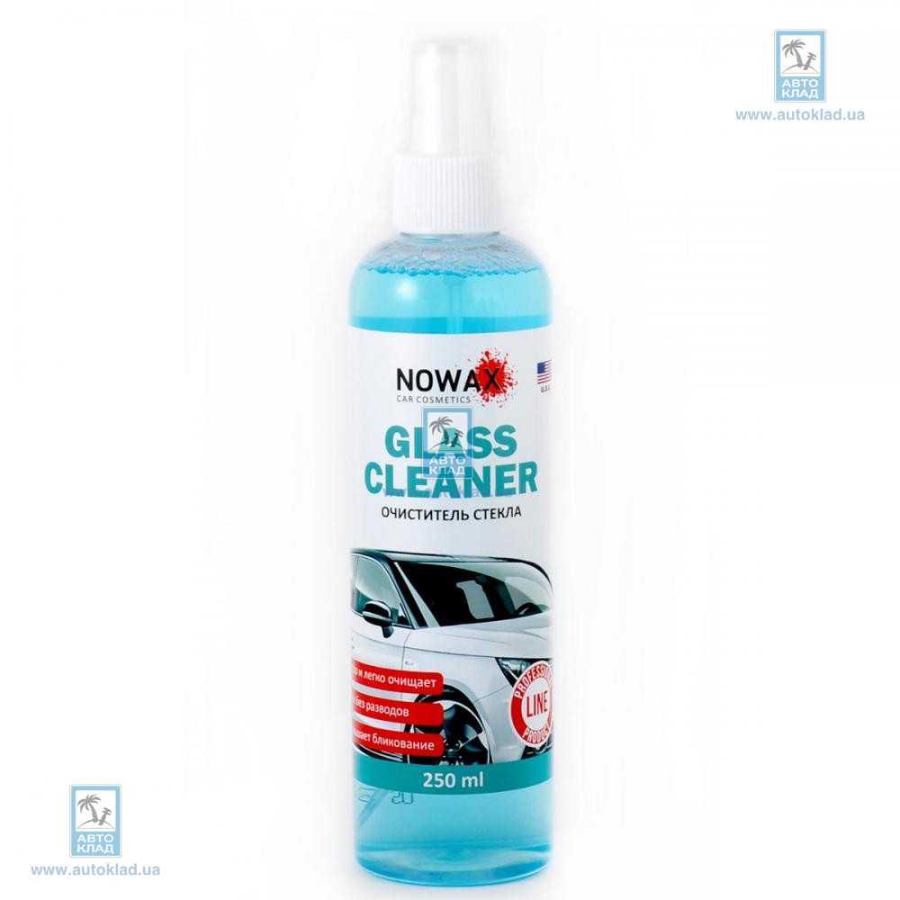 Очиститель стекол 250мл NOWAX 25229