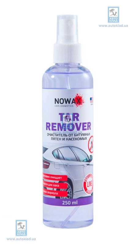 Очиститель битумных пятен Tar Remover 250мл NOWAX NX25239