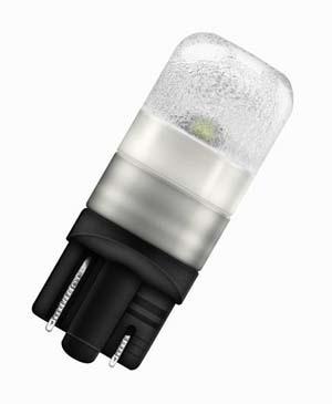 Автолампа W5W W2.1x9.5d LEDriving Premium Retrofit 24В комплект 2шт OSRAM 2824WW02B