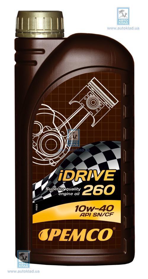 Масло моторное 10W-40 iDrive 260 1л PEMCO PM5821