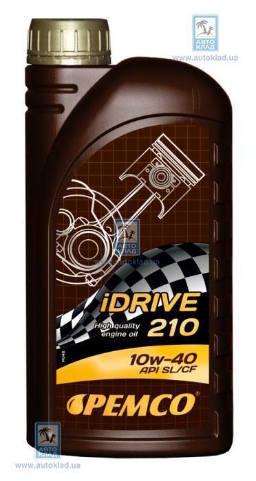 Масло моторное 10W-40 iDrive 210 SemiSynthPlus 1л PEMCO PM5831