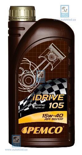 Масло моторное 15W-40 iDrive 105 LADAX 1л PEMCO PM5901: цена