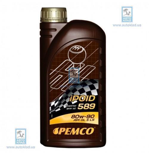 Масло трансмиссионное 80W-90 iPOID 589 TRANSPOID 1л PEMCO PM5921