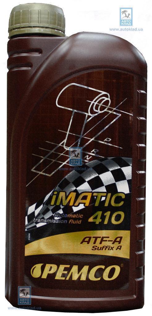 Масло трансмиссионное ATF type A iMATIC 410 1л PEMCO PM5941