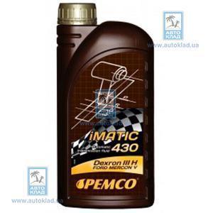 Масло трансмиссионное ATF Dexron III iMATIC 430 1л PEMCO PM5961