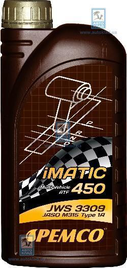 Масло трансмиссионное ATF iMATIC 450 1л PEMCO PM6421