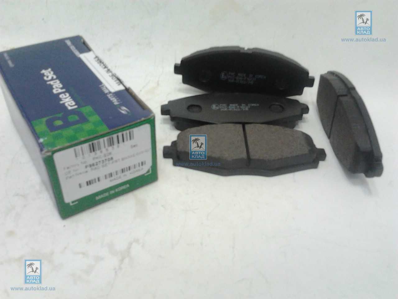Колодки тормозные дисковые PMC PKCE06