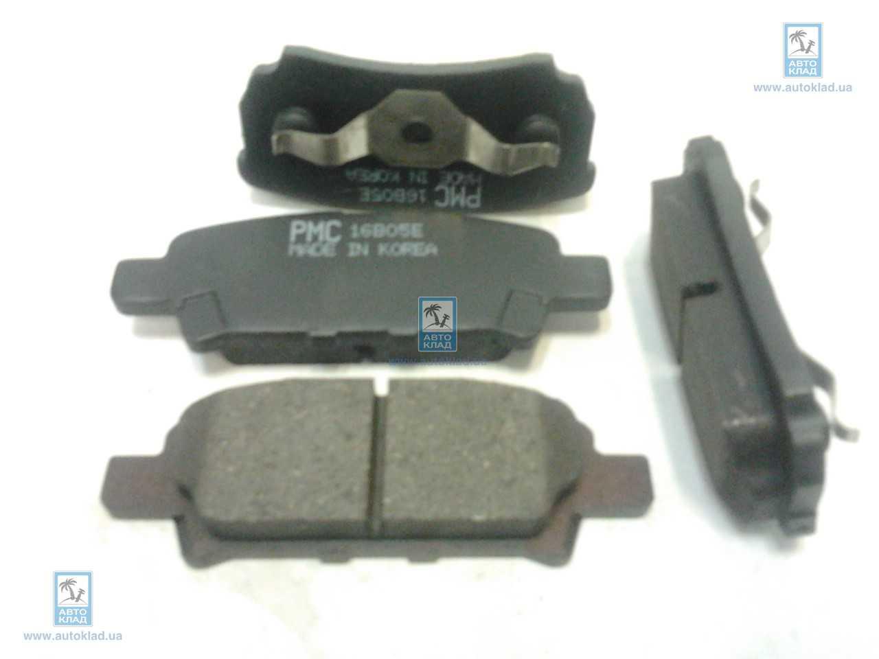 Колодки тормозные дисковые PMC PKG007