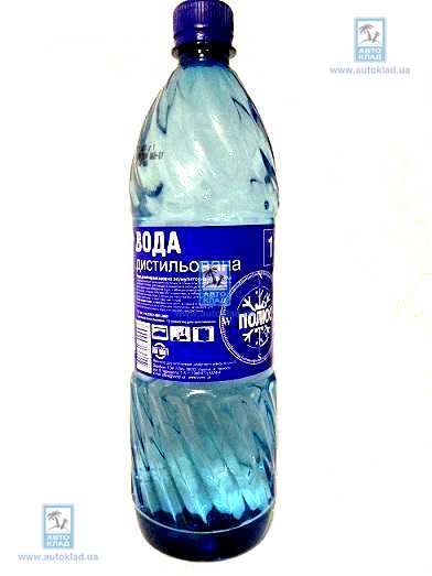 Вода дистиллированная 1л POLUS 1LWATER