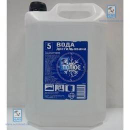 Вода дистиллированная 5л POLUS 5LWATER