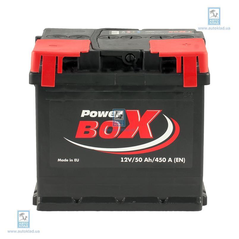 Аккумулятор 50Ач А1 Euro (0) POWERBOX SLF05000