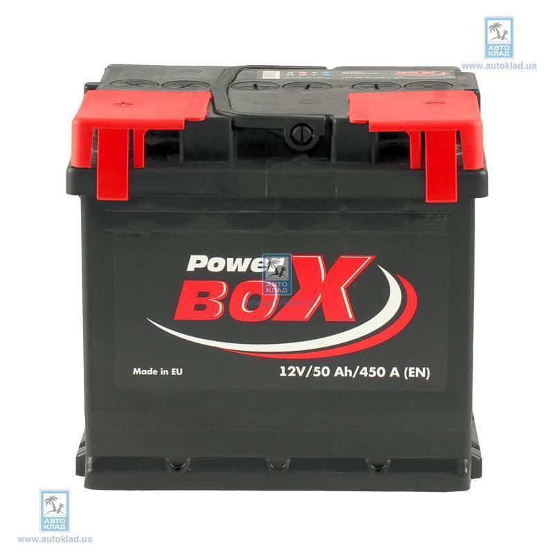 Аккумулятор 50Ач А1 (1) POWERBOX SLF05001