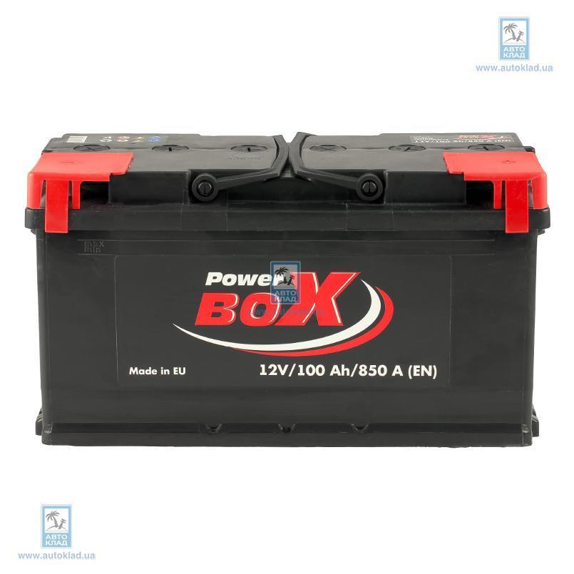 Аккумулятор 100Ач А1 Euro (0) POWERBOX SLF10000