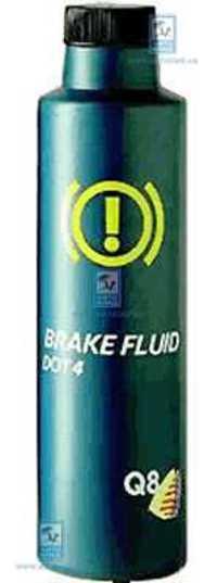 Тормозная жидкость DOT4 250мл Q8 Q8BRFL025