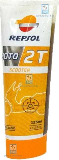 Масло для 2Т двигателей Moto Sintetico 125мл REPSOL RP150W53