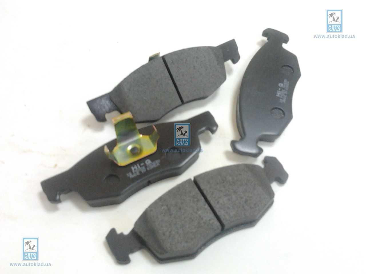 Колодки тормозные передние SANGSIN SP1198