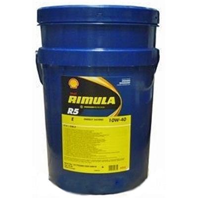 Масло моторное 10W-40 Rimula R5 E 20л SHELL SHELL00091: купить