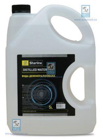 Вода дистиллированная 5л STARLINE WATER5