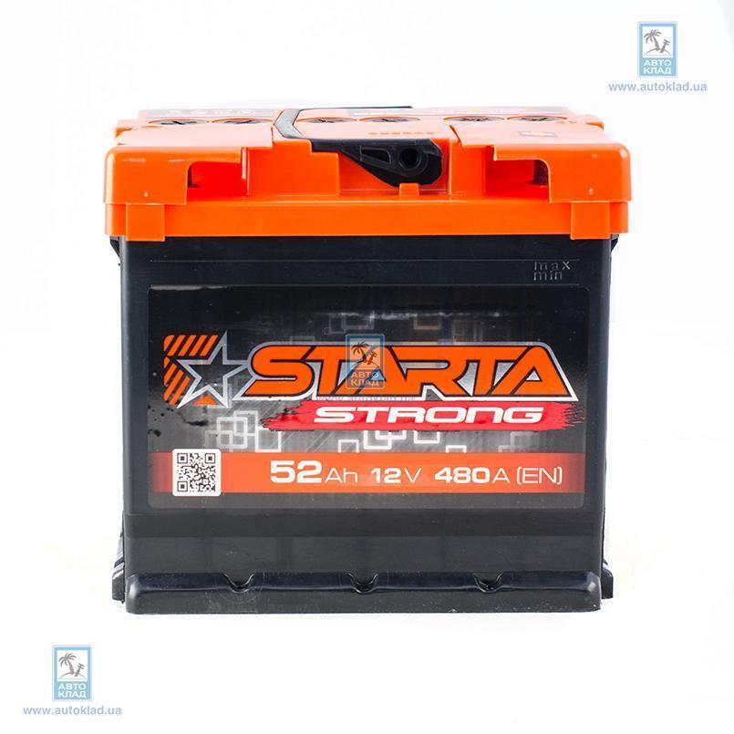 Аккумулятор 52Ач АЗ Strong STARTA JDF052ST01