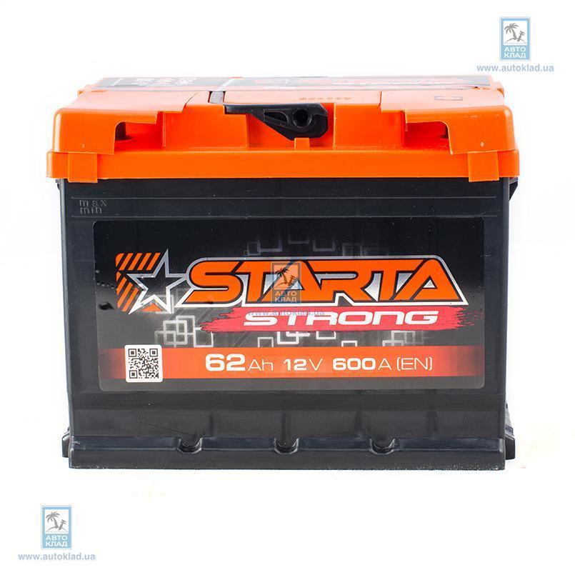 Аккумулятор 62Ач АЗ Euro Strong STARTA JDF062ST00