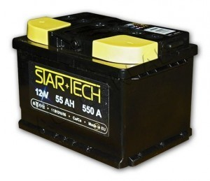 Аккумулятор 55Ач 550A STARTECH 10B130055