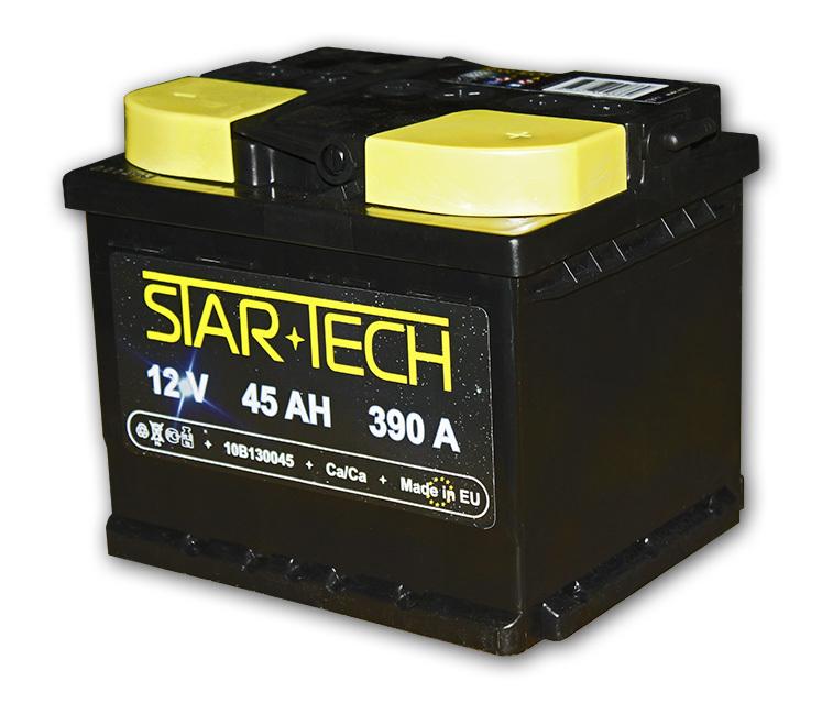 Аккумулятор 45Ач 390А STARTECH 10B131045