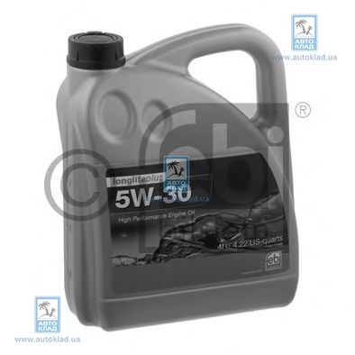 Масло моторное 5W-30 LonglifePlus 4л SWAG 15 93 2946