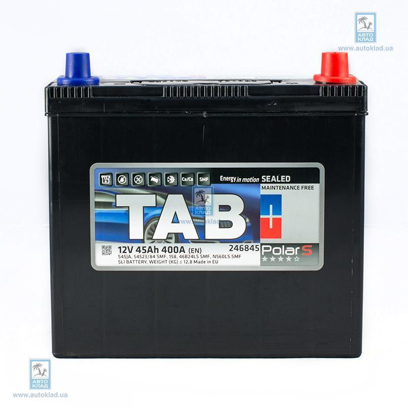 Аккумулятор 45Ач Polar S TAB 246245