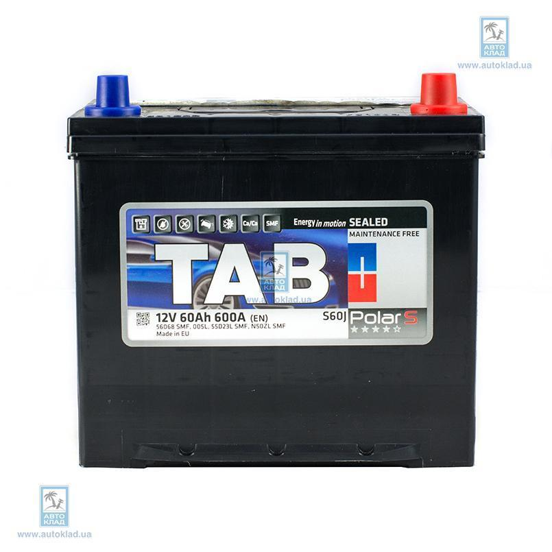 Аккумулятор 60Ач Polar S TAB TPSJ600