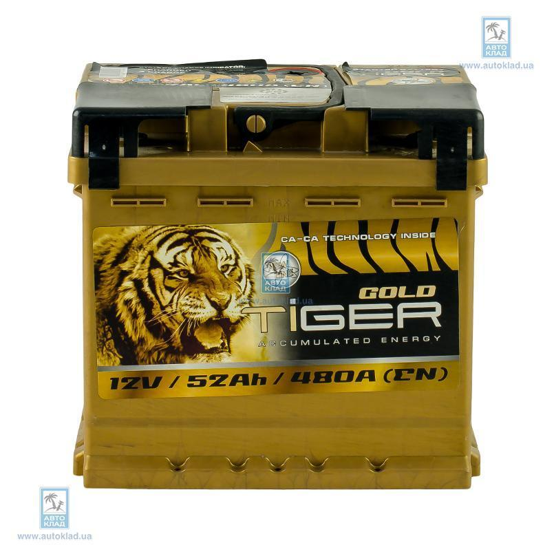 Аккумулятор 52Ач Gold Euro (0) TIGER AFS052G00