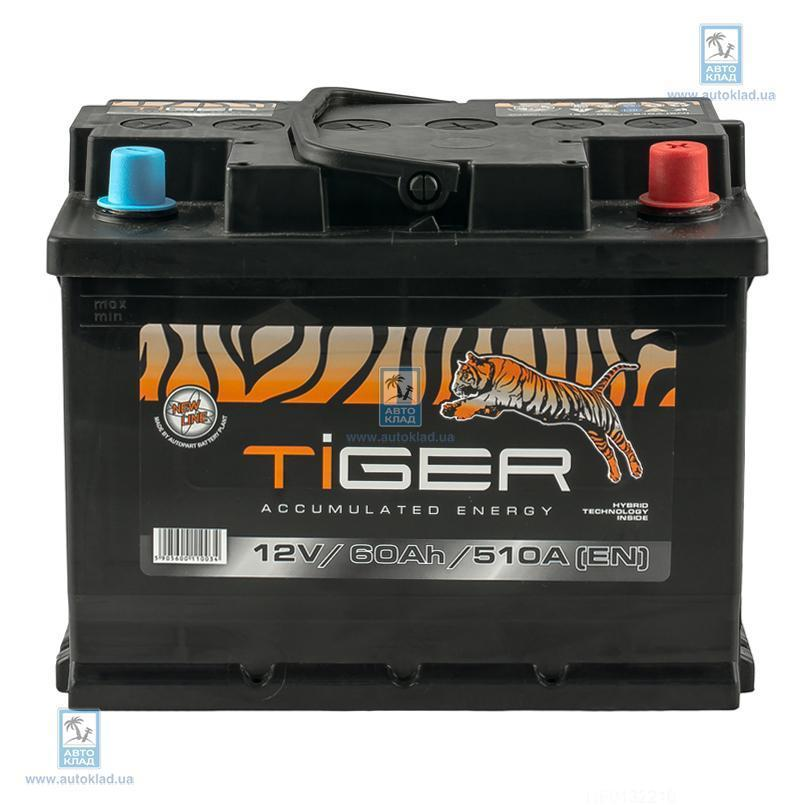 Аккумулятор 60Ач Euro (0) TIGER AFS06000