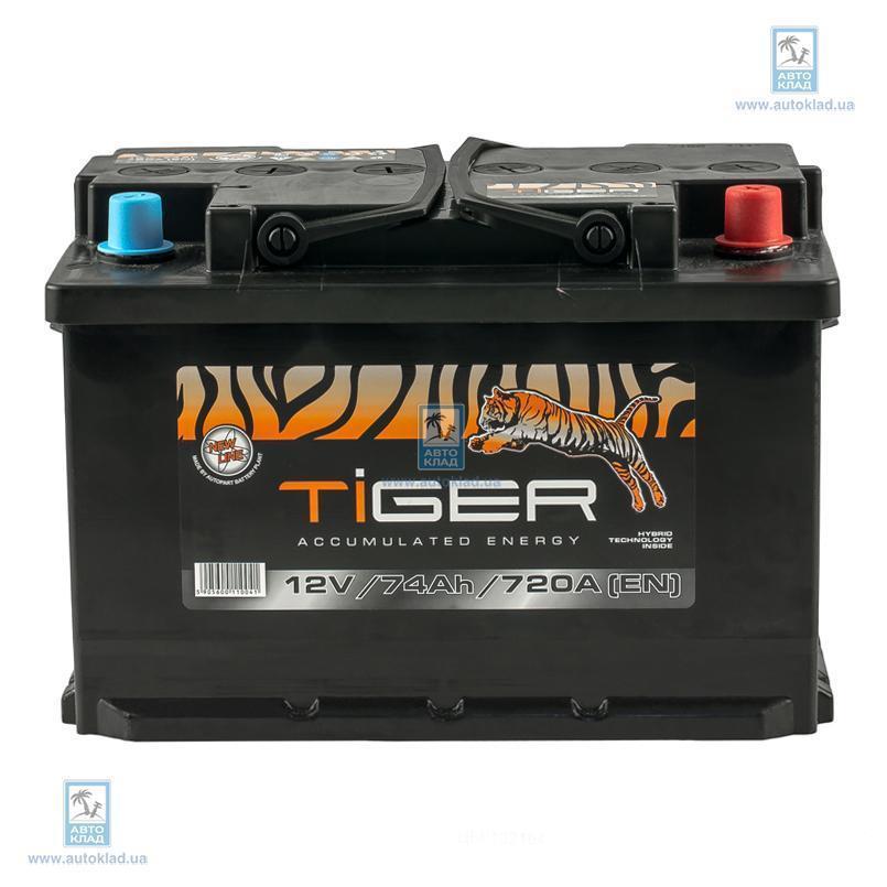 Аккумулятор 74Ач Euro (0) TIGER AFS07400