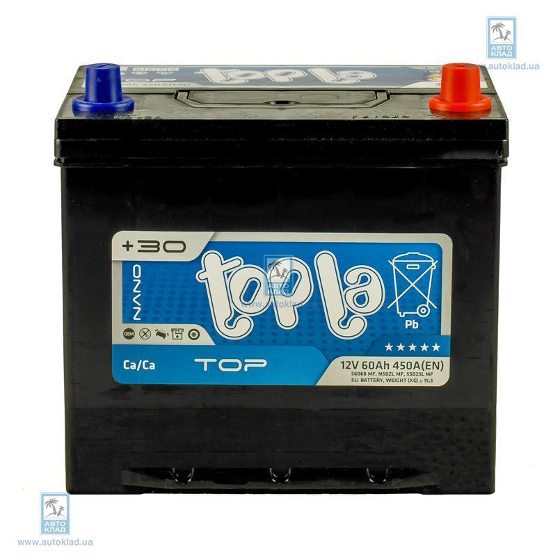 Аккумулятор 60Ач Energy Japan Euro TOPLA TSTEJ600