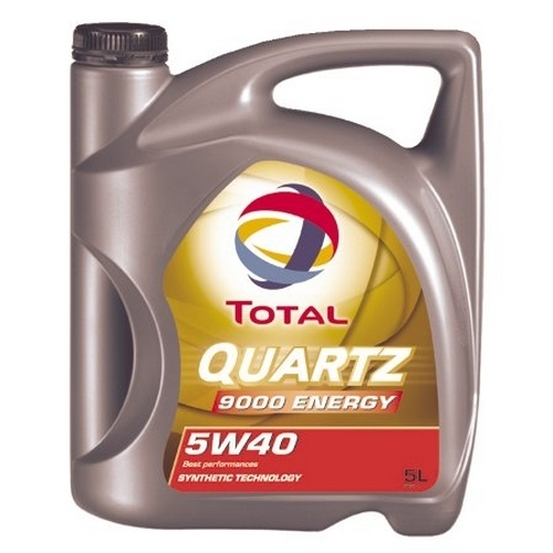 Масло моторное 5W-40 Quartz 9000 Energy 5л TOTAL 156812: стоимость