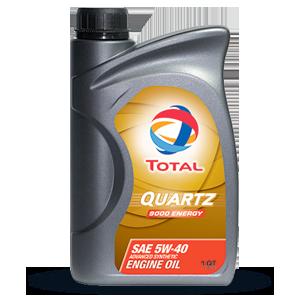 Масло моторное 5W-40 Quartz 9000 Energy 1л TOTAL 166245