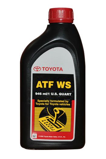 Масло трансмиссионное ATF WS 0.946л USA TOYOTA 00289-ATFWS: продажа