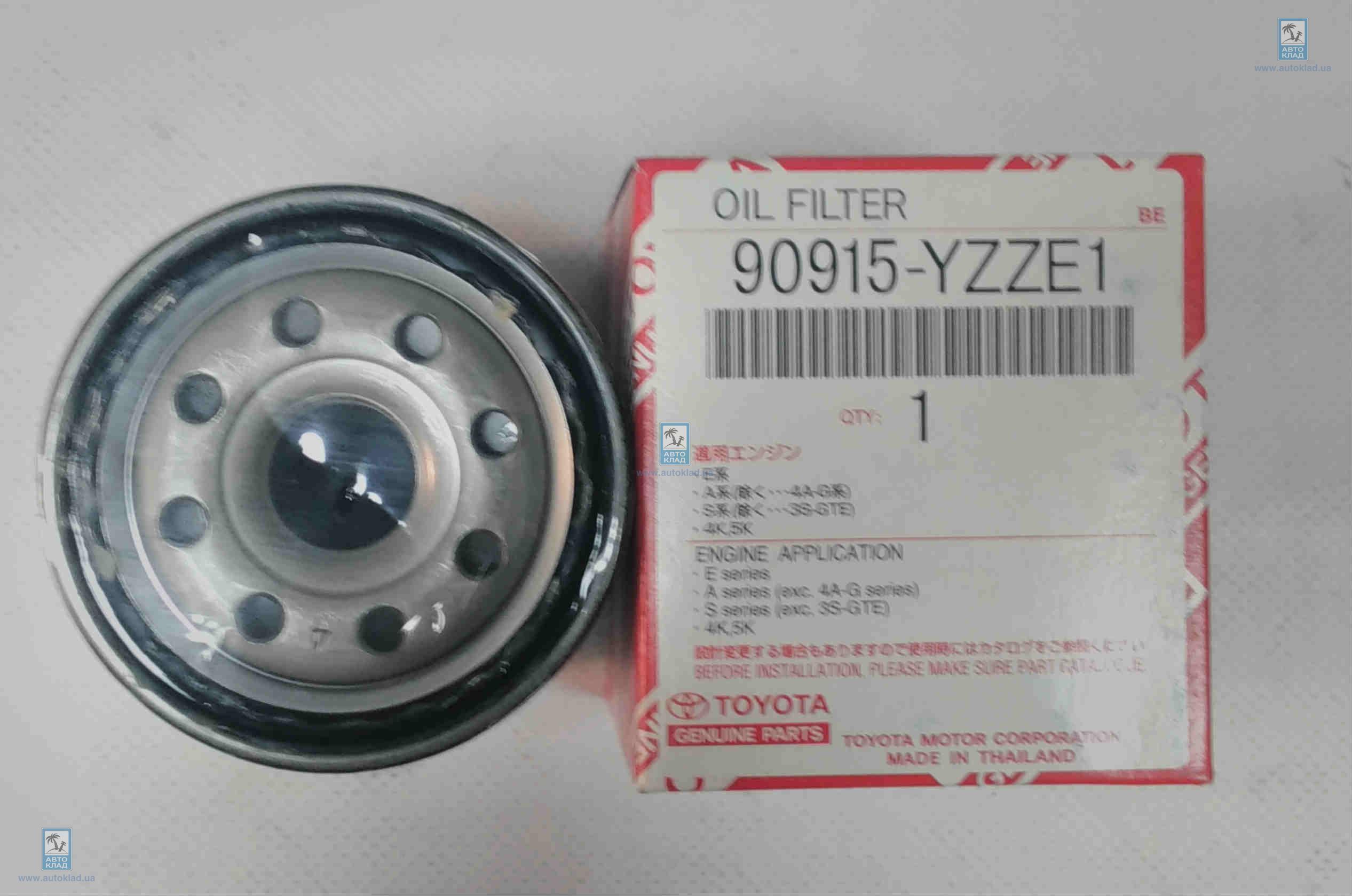 Фильтр масляный TOYOTA 90915-YZZE1: описание